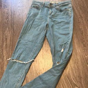Topshop Leigh Denim Jeans